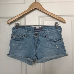 Abercrombie Girls Denim Shorts Size: 14